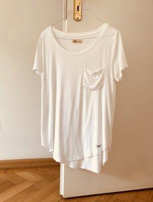 Hollister Shirt T-Shirt weiß S 36