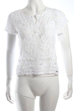 Hollister Shirt weiß