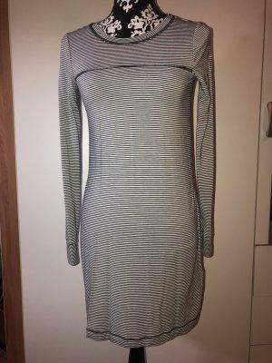Hollister Shirt Dress white-dark blue