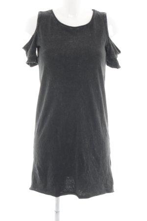 Hollister Shirtkleid anthrazit-dunkelgrau Casual-Look
