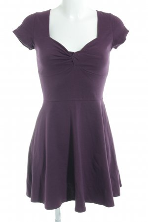 Hollister Shirt Dress purple simple style