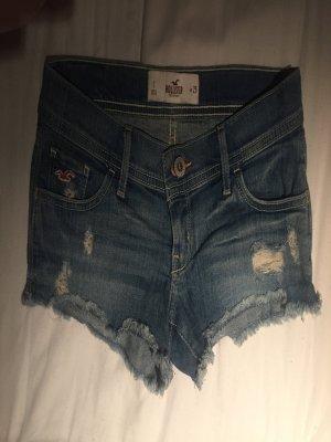 Hollister Pantalón corto azul celeste-azul