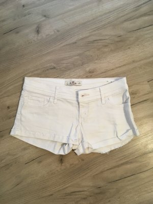 Hollister Short weiß W25