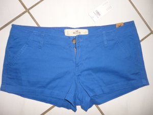 HOLLISTER Shorts 5 royal blau stretch 36/38 neu