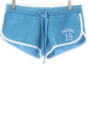 Hollister Shorts blau-weiß sportlicher Stil