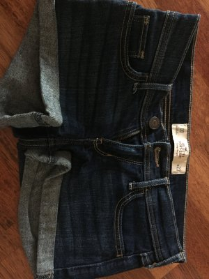 Hollister Shorts dunkelblau