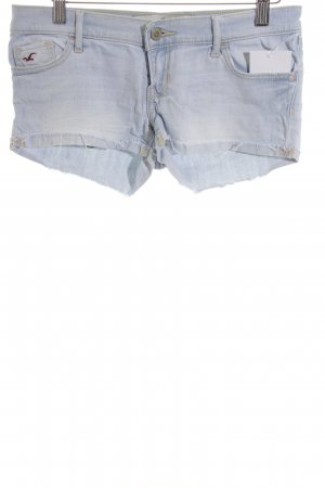 Hollister Shorts himmelblau Casual-Look