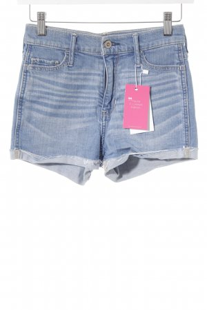 Hollister Shorts kornblumenblau Casual-Look