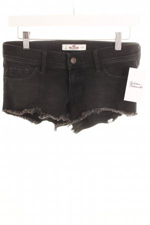 Hollister Shorts schwarz Beach-Look