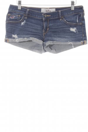 Hollister Shorts stahlblau Casual-Look