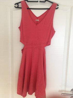Hollister Cut out jurk zalm