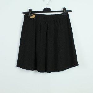 Hollister Skater Skirt black mixture fibre