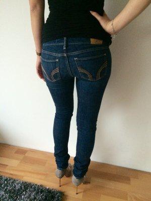 Hollister Skinny Jeans 3 L dunkelblau Röhrenjeans