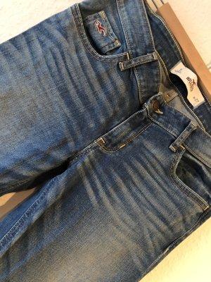 Hollister Drainpipe Trousers multicolored cotton