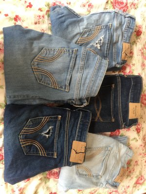 HOLLISTER Skinny jeans blau