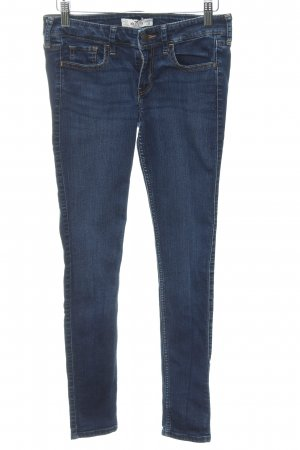 Hollister Skinny jeans blauw casual uitstraling