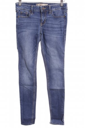 Hollister Skinny Jeans blau-dunkelblau Casual-Look
