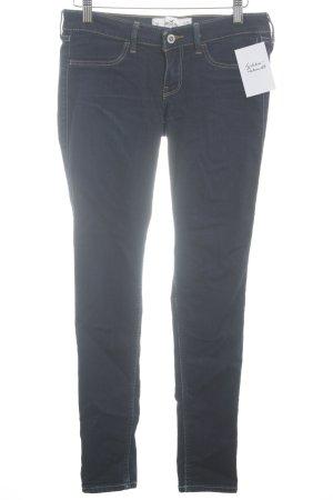 Hollister Skinny Jeans blue-dark blue casual look