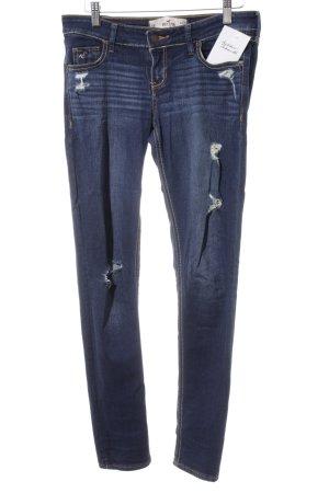Hollister Skinny Jeans blau Jeans-Optik