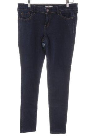 Hollister Skinny Jeans bronzefarben-dunkelblau schlichter Stil