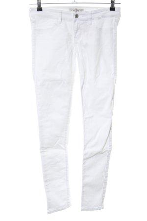 Hollister Skinny Jeans weiß Casual-Look