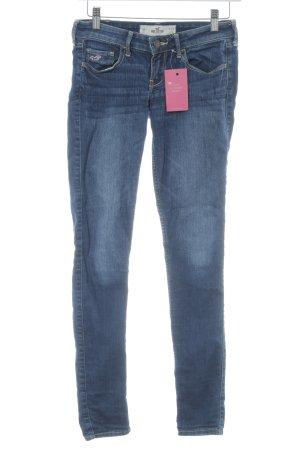 Hollister Skinny Jeans dunkelblau Casual-Look