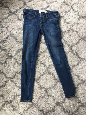 Hollister Skinny Jeans, dunkelblau