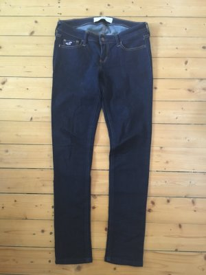 Hollister Skinny Jeans dunkelblau neu