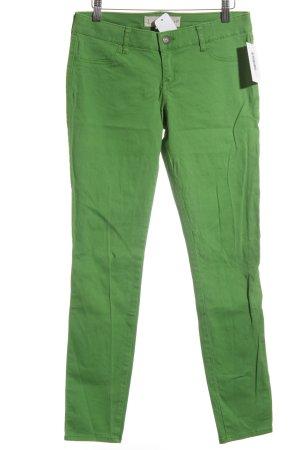 Hollister Skinny Jeans grün Casual-Look