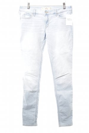 Hollister Skinny Jeans light blue casual look