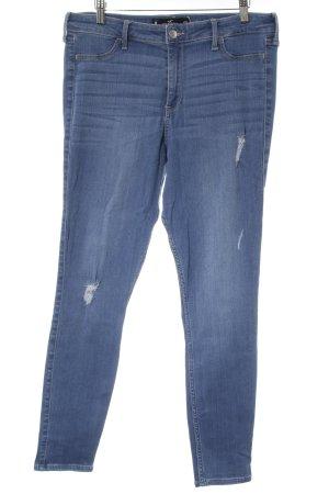 "Hollister Skinny Jeans ""High Rise Jean Legging"" blau"
