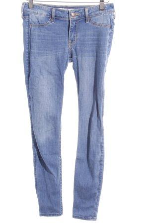 Hollister Skinny Jeans himmelblau-stahlblau Casual-Look