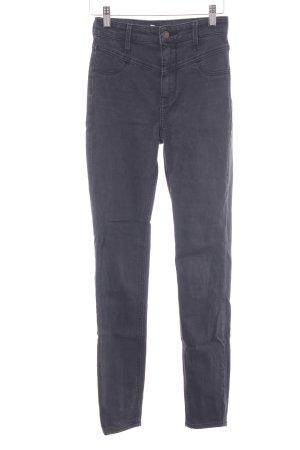 Hollister Skinny Jeans mehrfarbig Used-Optik