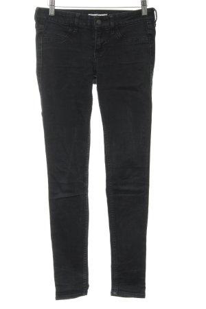 Hollister Skinny Jeans schwarz Jeans-Optik