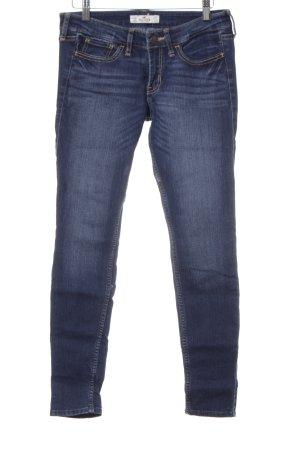 Hollister Skinny Jeans stahlblau-dunkelblau Casual-Look