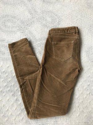 Hollister Pantalon en velours côtelé multicolore