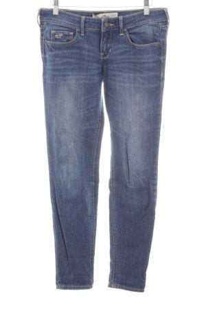 Hollister Jeans slim fit blu stile casual