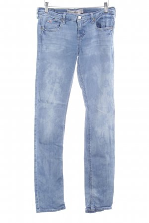 Hollister Slim Jeans blau Bleached-Optik