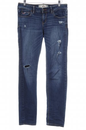 Hollister Slim Jeans blau Casual-Look