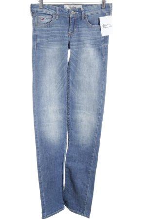 Hollister Jeans slim bleu style décontracté
