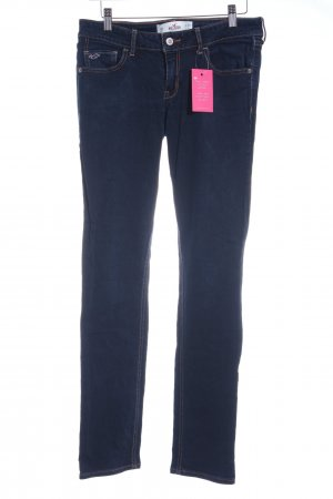 Hollister Slim Jeans dunkelblau Casual-Look