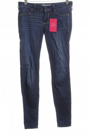 Hollister Slim Jeans dunkelblau Jeans-Optik