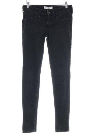 Hollister Slim Jeans schwarz Casual-Look