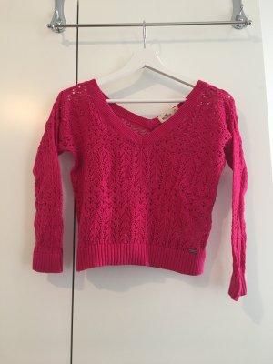 Hollister / Sommerlicher Pulli in pink