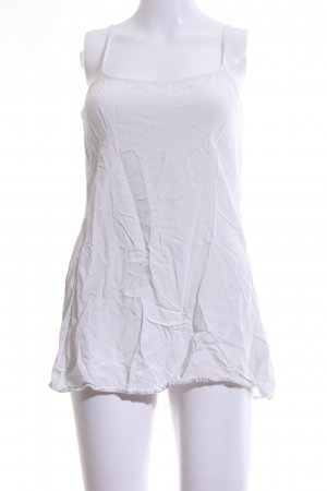 Hollister Spaghetti Strap Top white casual look