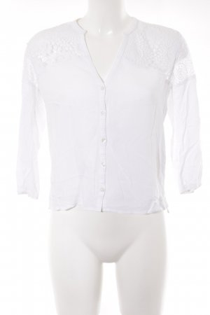 Hollister Blusa in merletto bianco stile casual