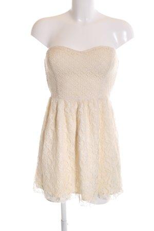 Hollister Spitzenkleid creme Elegant