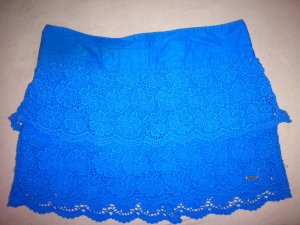 Hollister Lace Skirt blue