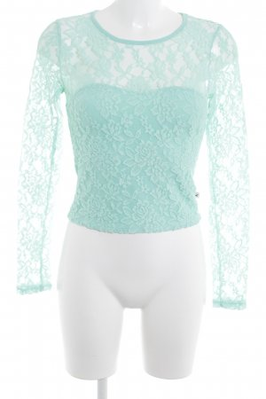 Hollister Lace Top turquoise