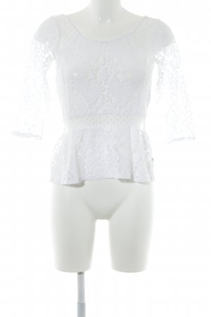 Hollister Lace Top white vintage look